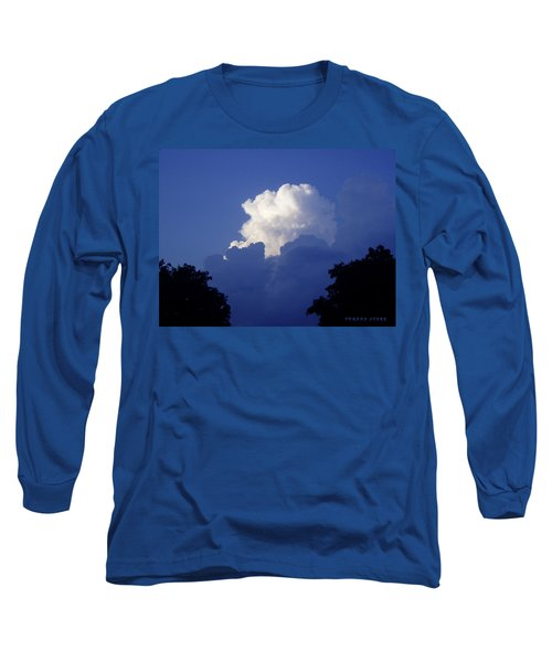 High Towering Clouds Long Sleeve T-Shirt by Verana Stark