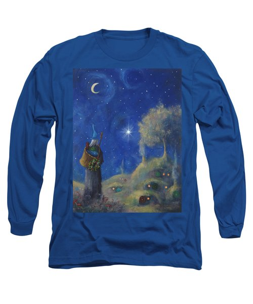 Hobbiton Christmas Eve Long Sleeve T-Shirt by Joe Gilronan