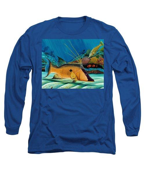 Hog And Filefish Long Sleeve T-Shirt