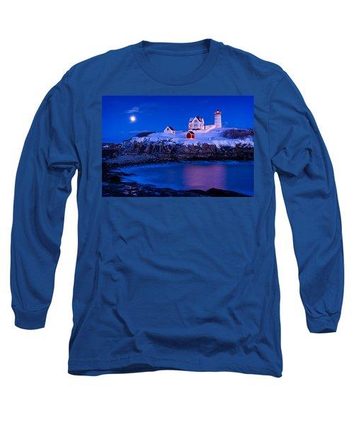 Holiday Moon Long Sleeve T-Shirt