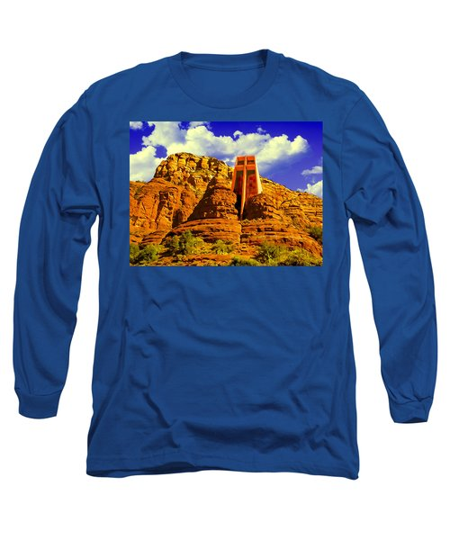Holy Cross Chapel Coconino National Forest Long Sleeve T-Shirt