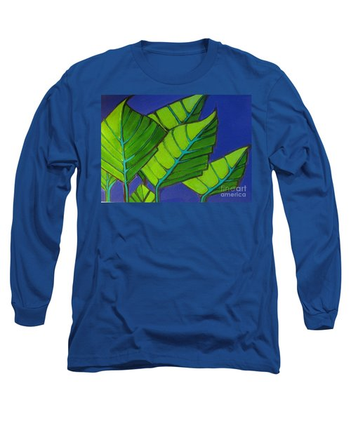 Hosta Blue Tip One Long Sleeve T-Shirt