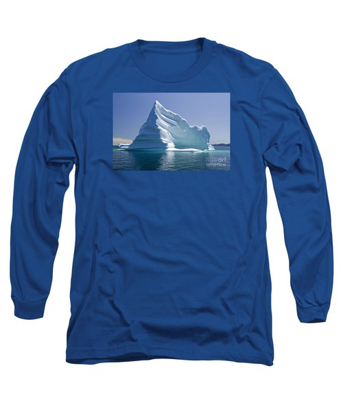 Iceberg Long Sleeve T-Shirt by Liz Leyden
