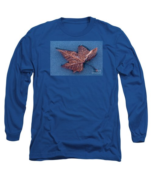 Long Sleeve T-Shirt featuring the photograph Icebound by Simona Ghidini