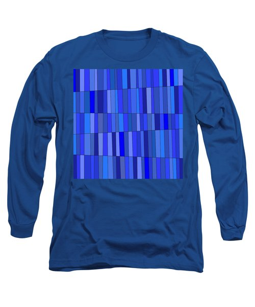 In Blue Please Long Sleeve T-Shirt