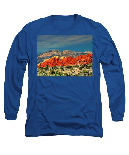 In Red Mountain 1 Long Sleeve T-Shirt