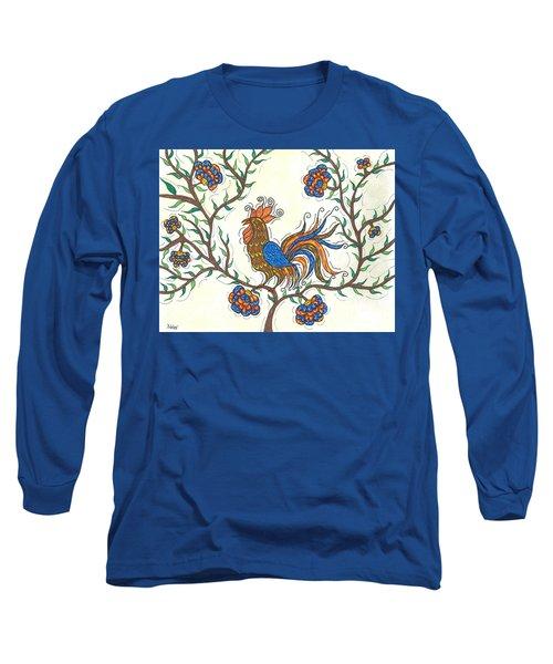 In The Garden - Barnyard Style Long Sleeve T-Shirt