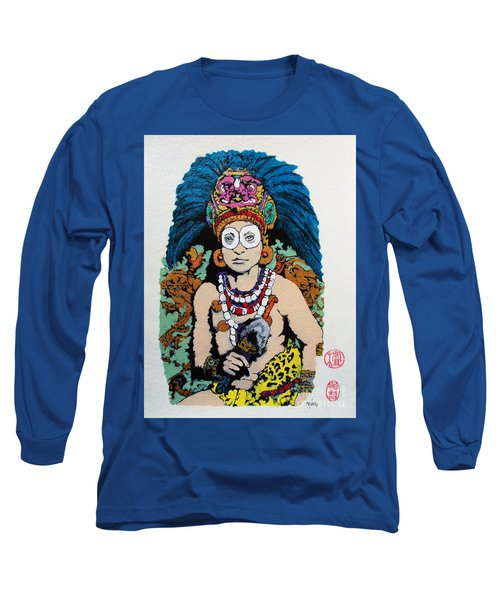 Inca  Royalty Long Sleeve T-Shirt by Roberto Prusso