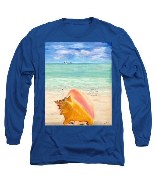 Inside The Head Of A Conch Woman Long Sleeve T-Shirt