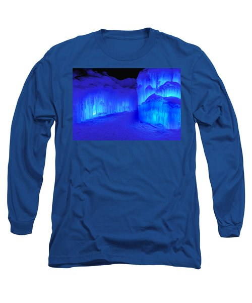 Into The Blue Long Sleeve T-Shirt by Greg Fortier
