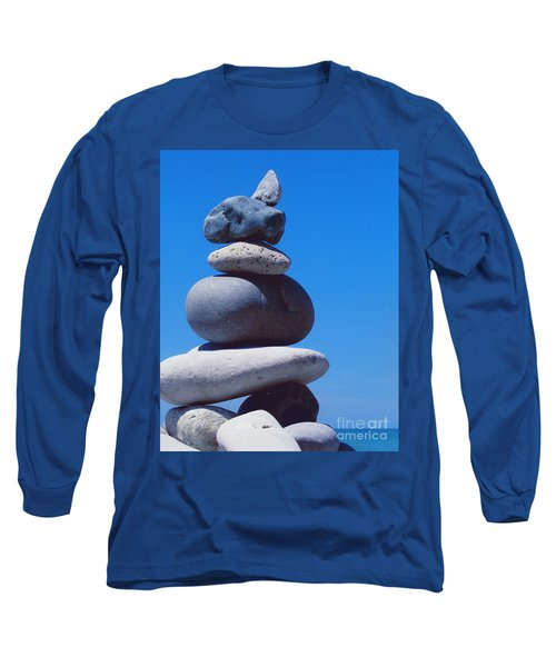 Inukshuk 1 By Jammer Long Sleeve T-Shirt