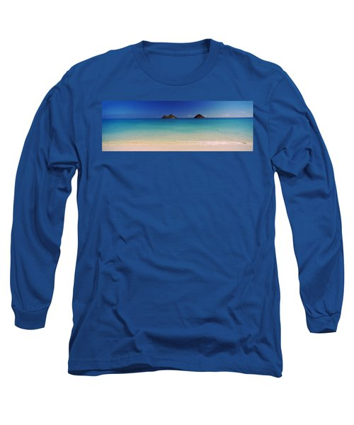 Islands In The Pacific Ocean, Lanikai Long Sleeve T-Shirt