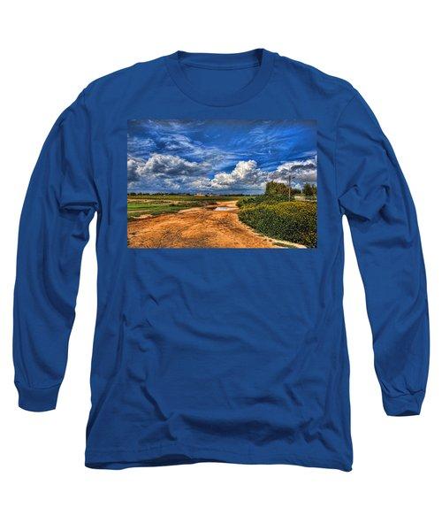 Israel End Of  Spring Season  Long Sleeve T-Shirt