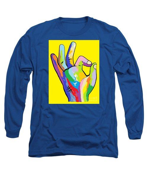 It's Ok Long Sleeve T-Shirt by Eloise Schneider