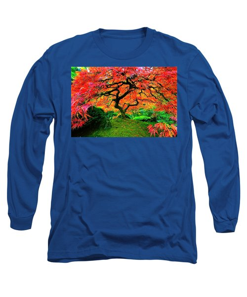 Japanese Red Maple Long Sleeve T-Shirt