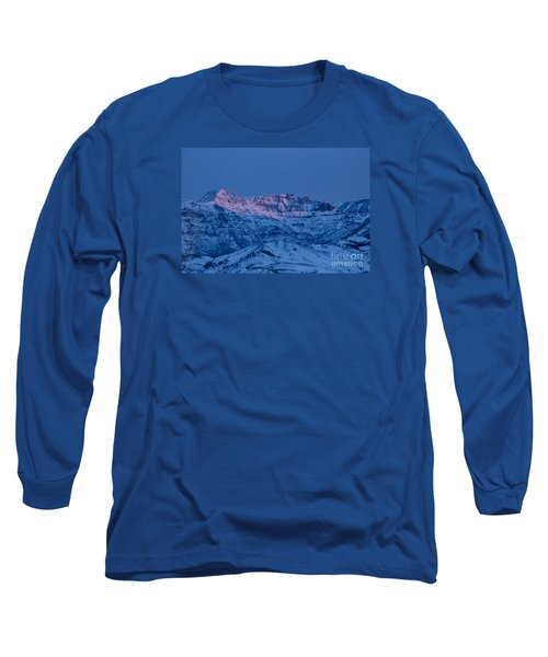 Jim Mountain-signed Long Sleeve T-Shirt by J L Woody Wooden