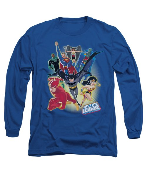 Jla - Unlimited Long Sleeve T-Shirt