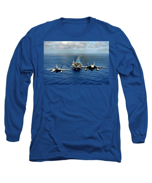 John C. Stennis Carrier Strike Group Long Sleeve T-Shirt by Mountain Dreams