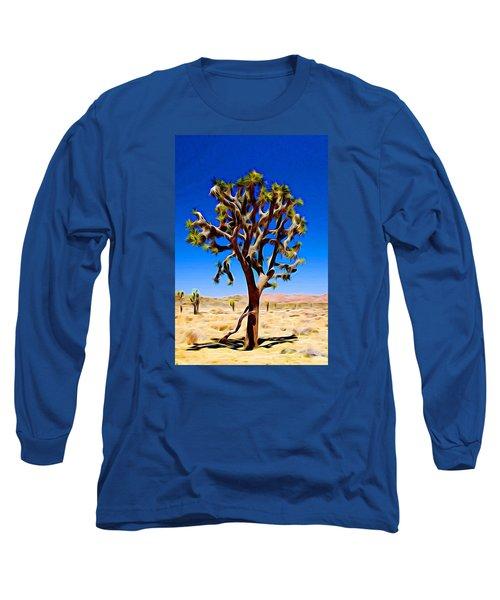 Joshua Tree Dark Long Sleeve T-Shirt