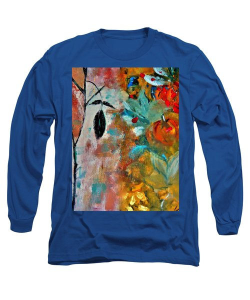 Long Sleeve T-Shirt featuring the painting Joy by Lisa Kaiser