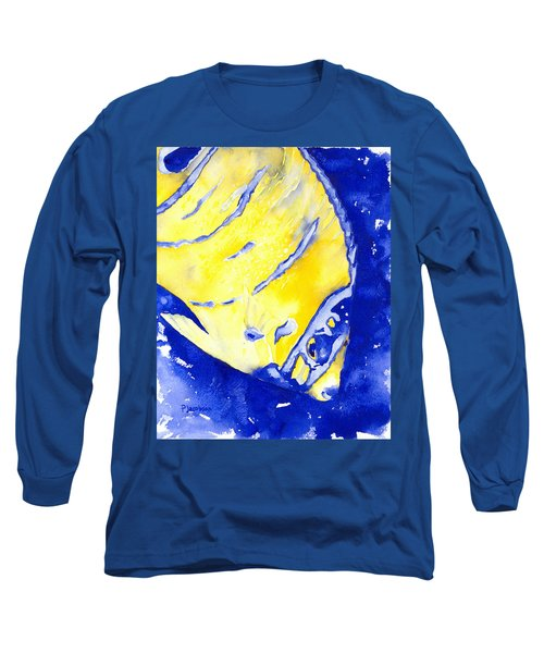 Juvenile Queen Angelfish Long Sleeve T-Shirt