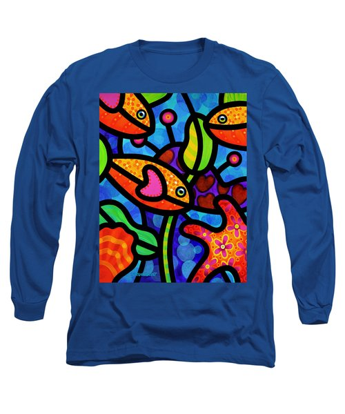 Kaleidoscope Reef Long Sleeve T-Shirt