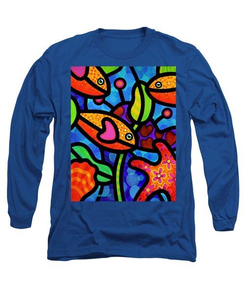 Kaleidoscope Reef Long Sleeve T-Shirt
