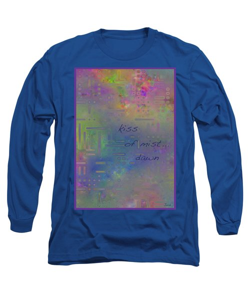 Kiss Of Mist Haiga Long Sleeve T-Shirt