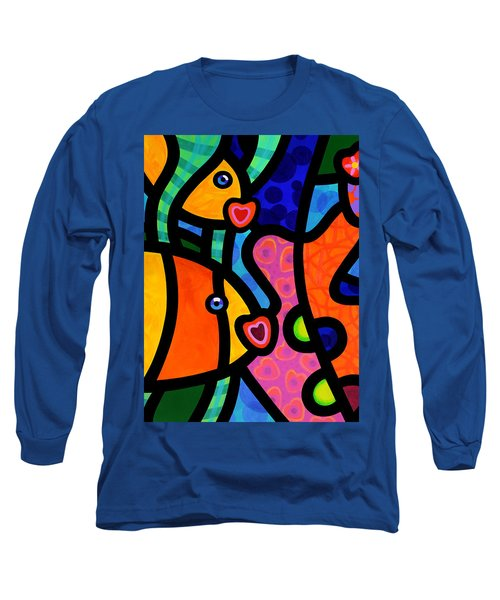 Kissing Fish Reef Long Sleeve T-Shirt