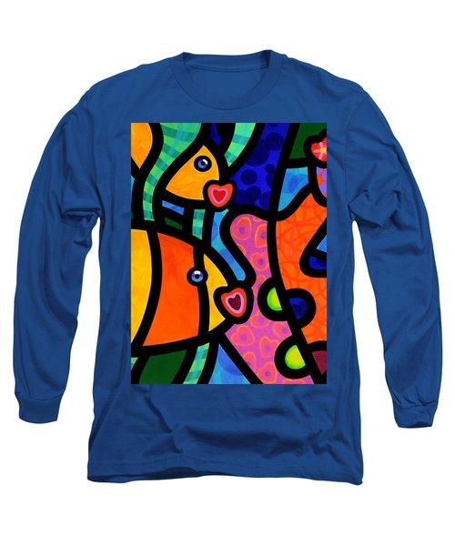 Kissing Fish Reef Long Sleeve T-Shirt