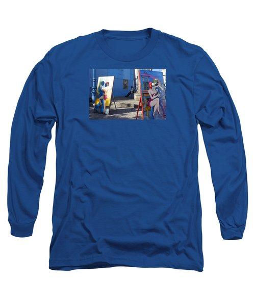 La Boca Blue Long Sleeve T-Shirt