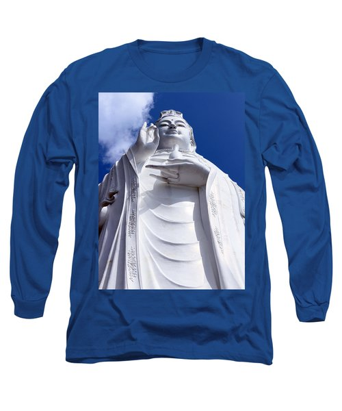 Lady Buddha Vietnam Long Sleeve T-Shirt