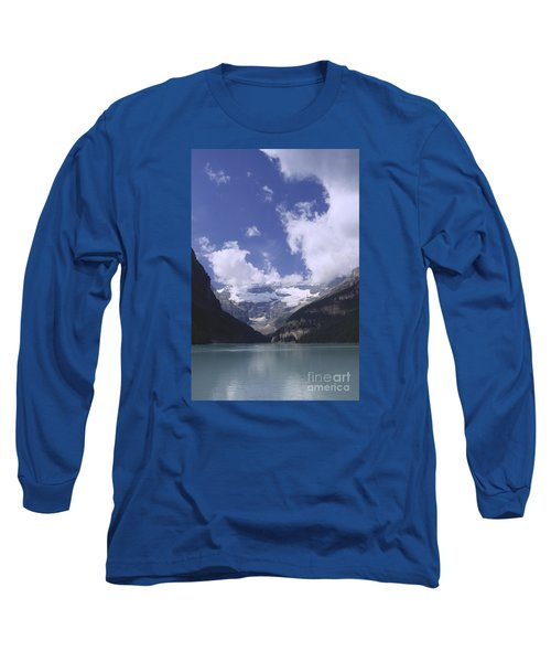 Long Sleeve T-Shirt featuring the photograph Lake Louise Canada by Rudi Prott