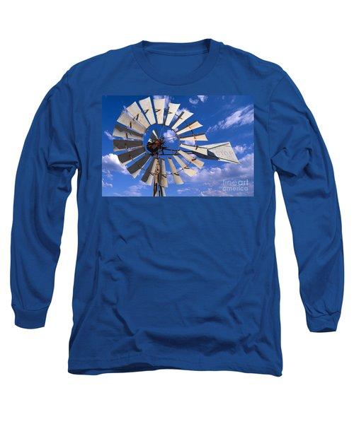 Large Windmill Long Sleeve T-Shirt