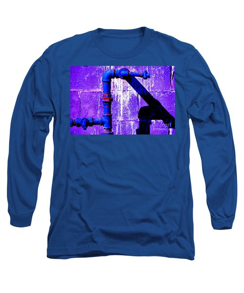 Long Sleeve T-Shirt featuring the photograph Leaky Faucet IIi by Christiane Hellner-OBrien