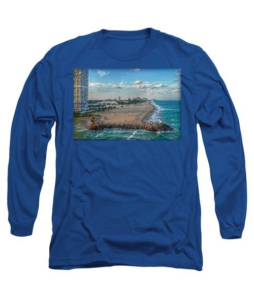 Leaving Port Everglades Long Sleeve T-Shirt