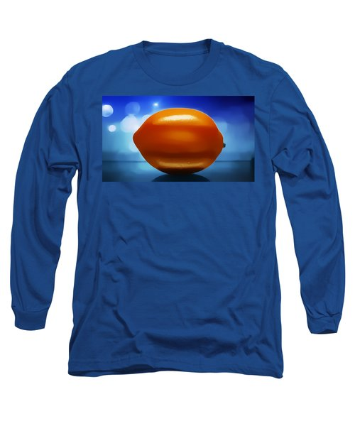 Long Sleeve T-Shirt featuring the photograph Lemon by Aaron Berg