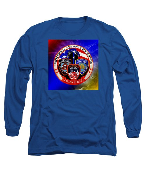 Least We Forget  Long Sleeve T-Shirt by Nick Kloepping