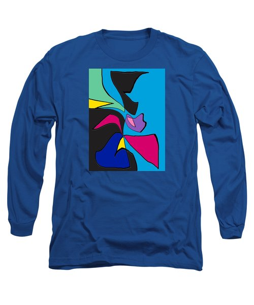 Original Abstract Art Painting Life Is Good By Rjfxx.  Long Sleeve T-Shirt by RjFxx at beautifullart com
