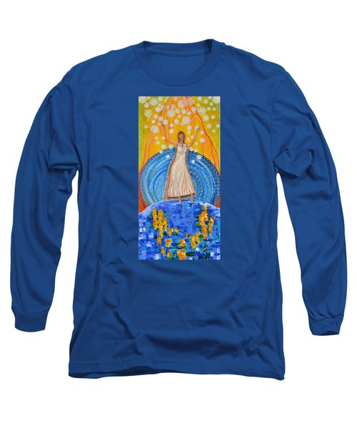 Lifting The Veil Long Sleeve T-Shirt by Cassie Sears