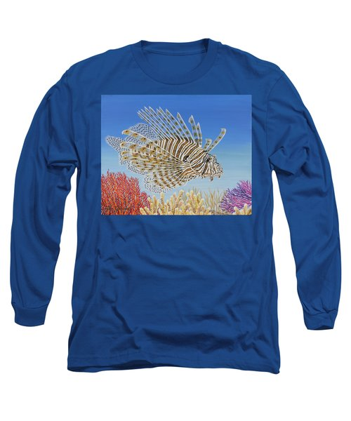 Lionfish And Coral Long Sleeve T-Shirt