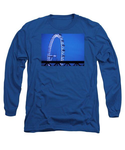 London's Eye At Dusk Long Sleeve T-Shirt
