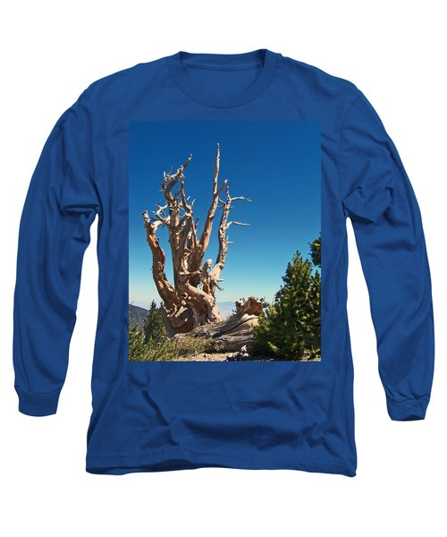 Long Sleeve T-Shirt featuring the photograph Lone Bristlecone by Alan Socolik