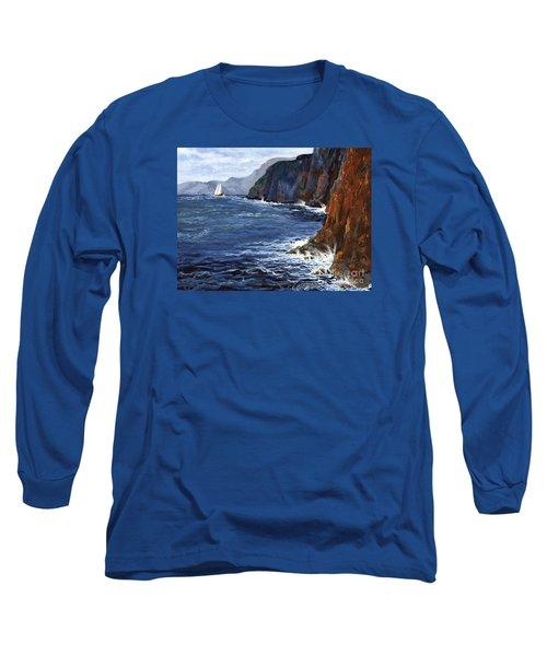 Lonely Schooner Long Sleeve T-Shirt