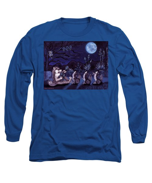 Los Cantantes Or The Singers Long Sleeve T-Shirt