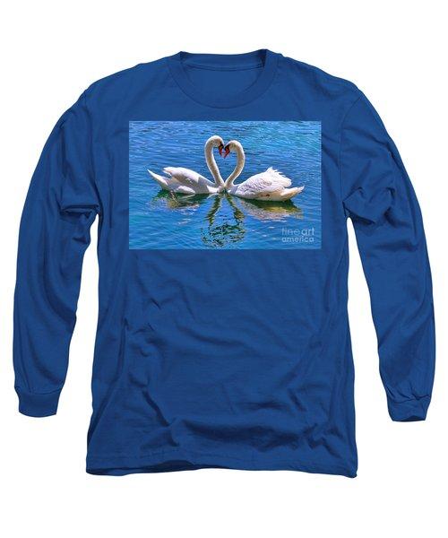 Love For Lauren On Lake Eola By Diana Sainz Long Sleeve T-Shirt
