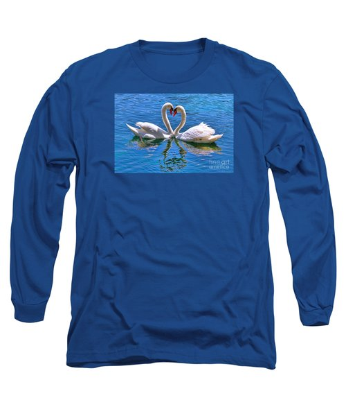 Love For Lauren On Lake Eola By Diana Sainz Long Sleeve T-Shirt
