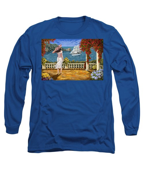 Long Sleeve T-Shirt featuring the painting Love Is Coming Home by Tim Gilliland