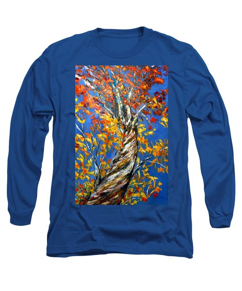 Long Sleeve T-Shirt featuring the painting Love That Reaches by Meaghan Troup
