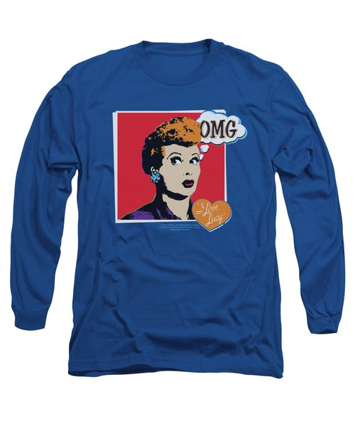 Lucy - I Love Worhol Omg Long Sleeve T-Shirt